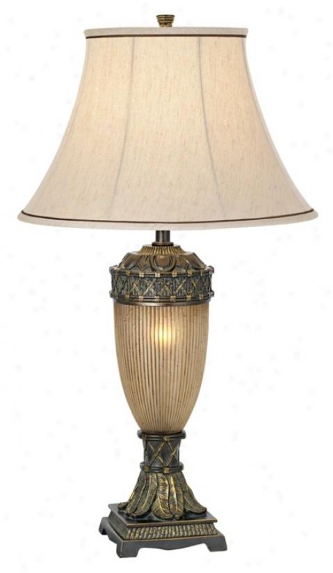 National Geographic Bamboo Tinik Night Light Table Lamp (h1560)