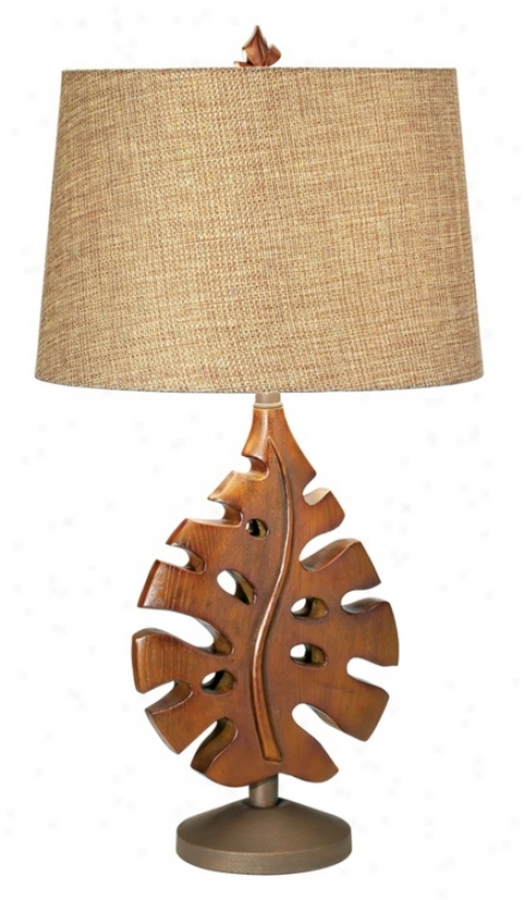 National Geographic Phiiodendron Table Lamp (h1556)