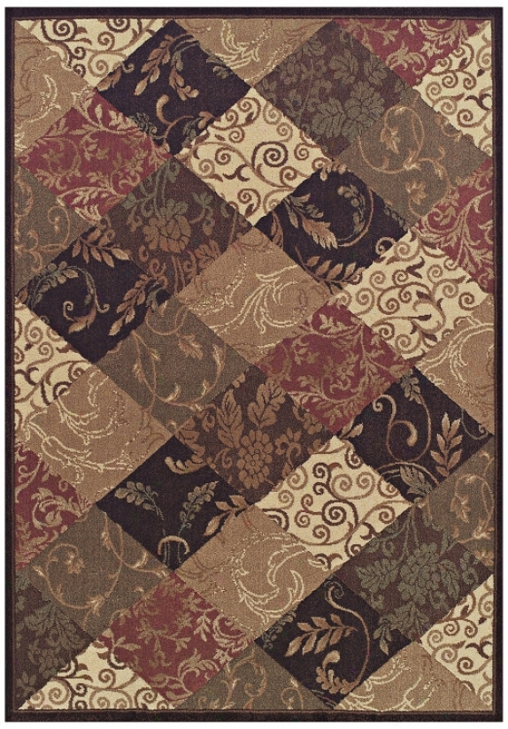 "Natural Balance Brown Multi 9' 6""x13' 2"" Area Rug (j5313)"