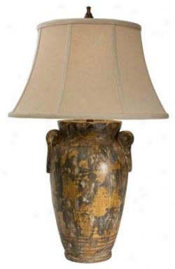 Natural Light Andalusia Ceramic Table Lamp (p5220)