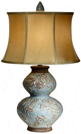 Nstural Light Bombay Rebel Ceramic Table Lamp (p5286)