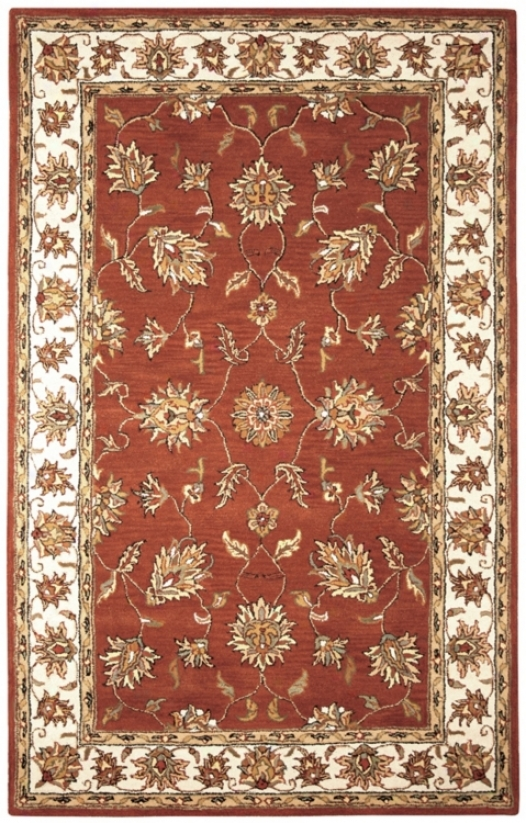 Natural Wool Collection Kenwick 2'x3' Area Rug (k7066)