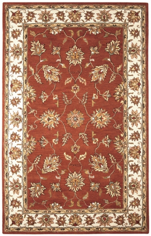 Natural Wool Collection Kenwick Runner 8'x10' Area Rug (k7070)