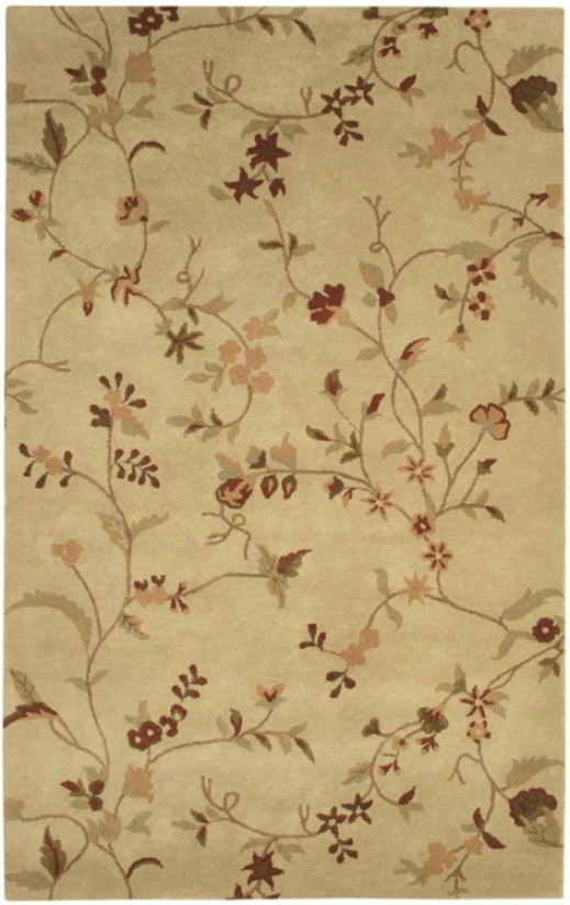 Natyral Wool Collection Wakefield 2'x3' Area Rug (k6815)