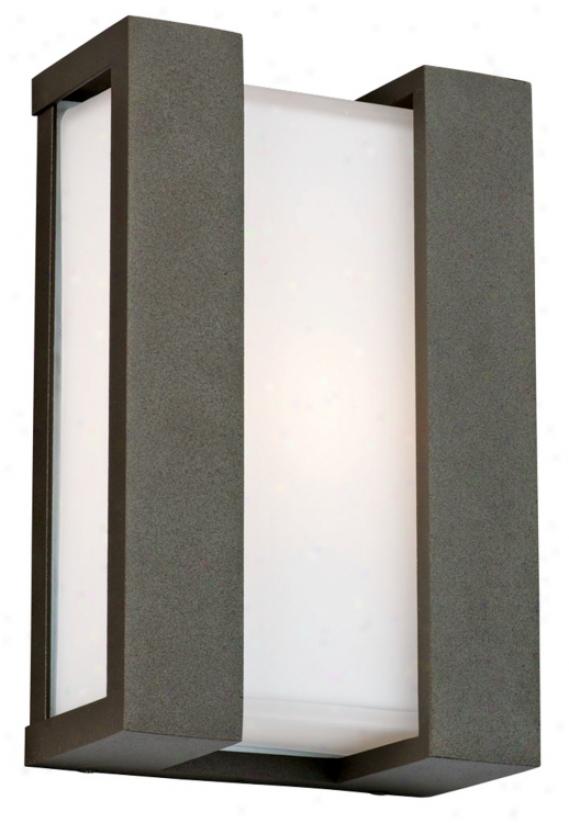 """Newport Collection Bronze 11"""" High Outdoor Wwll Light (70262)"""