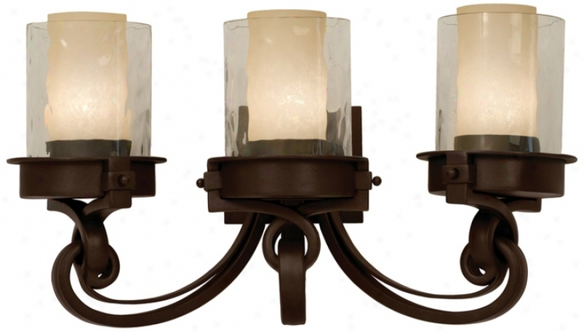 "Newport Collection Bronze 23 1/2"" Wide Bathroom Light (18832)"