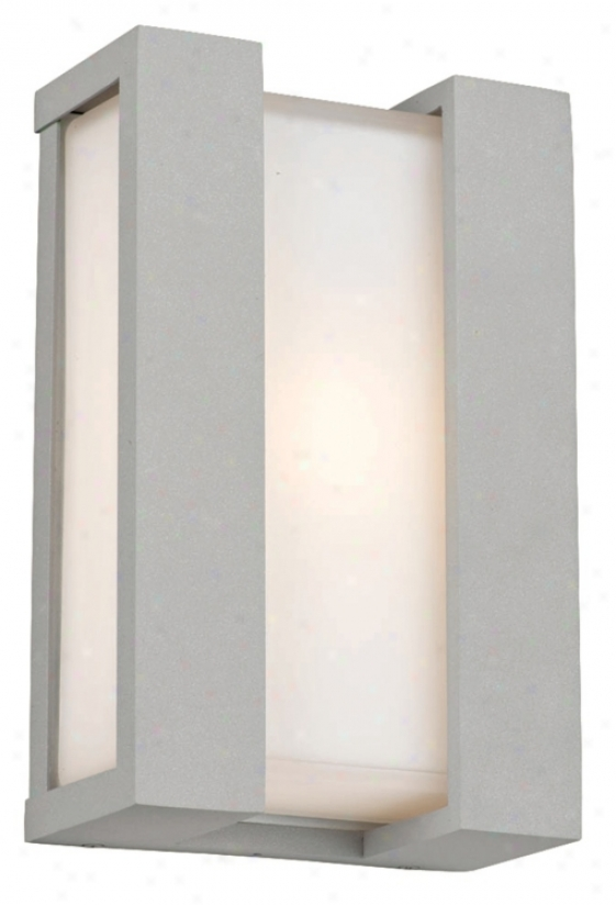 "Newport Collection Plumbago 11"" High Outdoor Wall Light (m1449)"