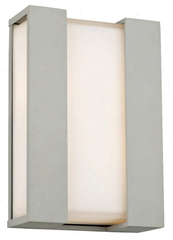 "Newport Collection Graphte 19"" High Exterior Wall Light (m1444)"