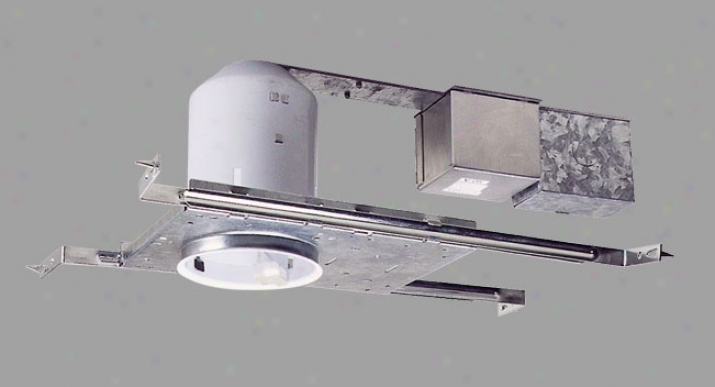 Nickel Finish Halogen Recessed Light Housing (06225)