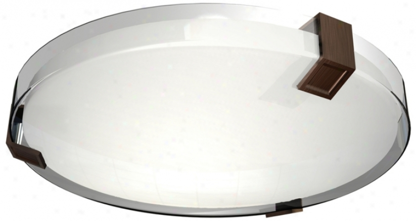 "Nolan Collection 16"" Wide Energy Efficient Ceiling Light (m2243)"