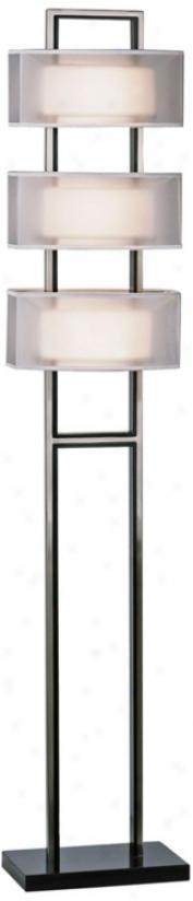 Nova Amarilllo Ghost White Floor Lamp (r0431)