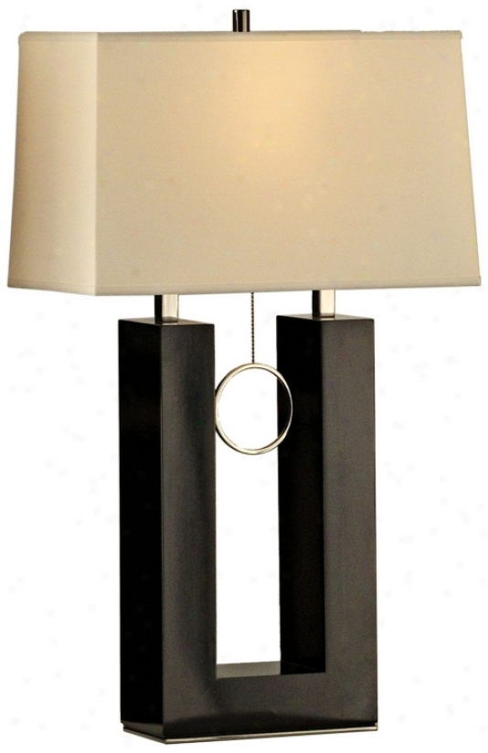 Noba Earring Footing Table Lamp (r4504)