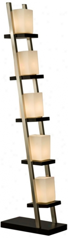 Nova Lighting Escalier 5-step Floor Lamp (t8496)
