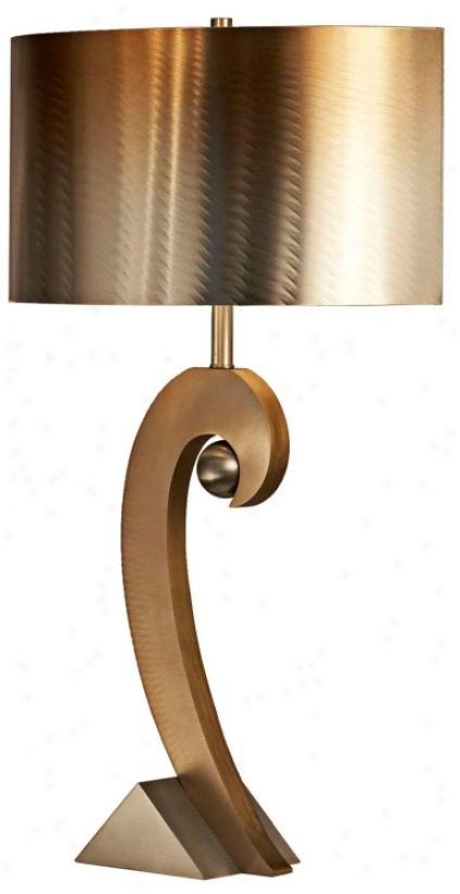 Nova Swooshball Table Lamp (r3020)