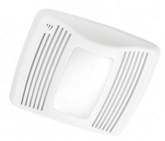 """Nutone 110 Cfm 6"""" Ducting Humidity Sensing Fan With Light (57614)"""