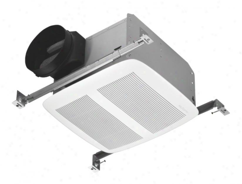 """Nutone Wgite Energy Star 6"""" Ducting Bathroom Exhaust Fan (28690)"""