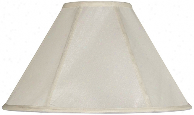 Off-white Empire Lamp Shade 6x17x11 (spider) (v9586)
