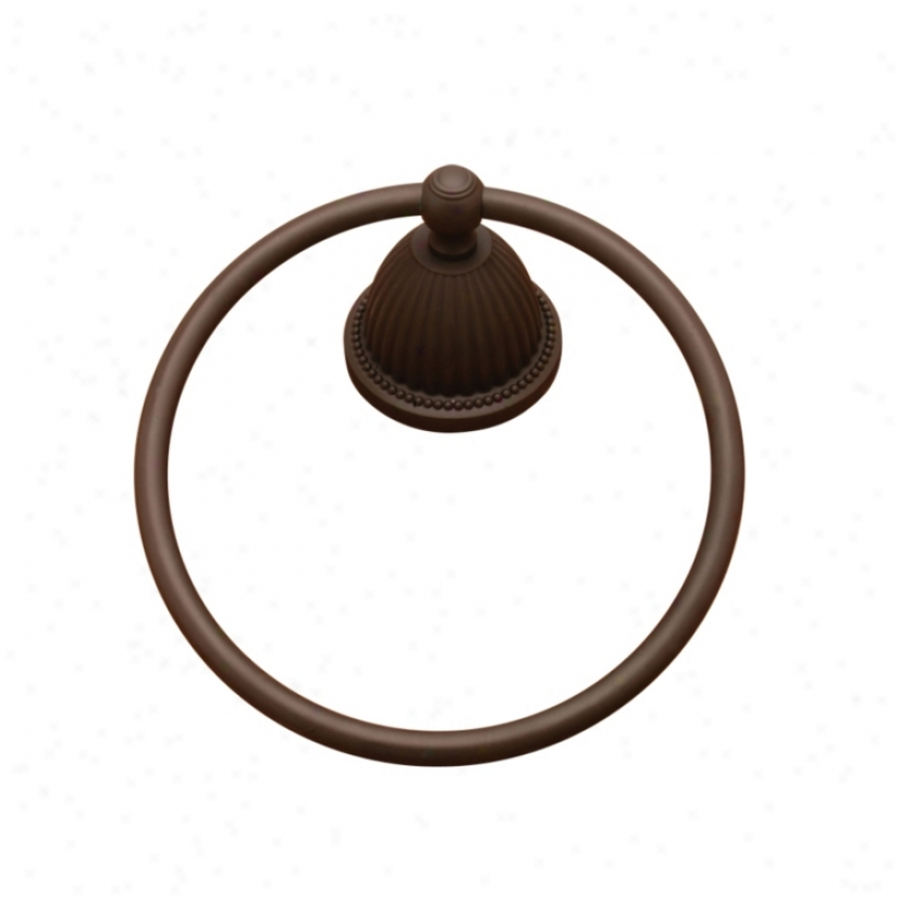 Oil Rubbed Bronze Finish Towel Holder Ring (07524)