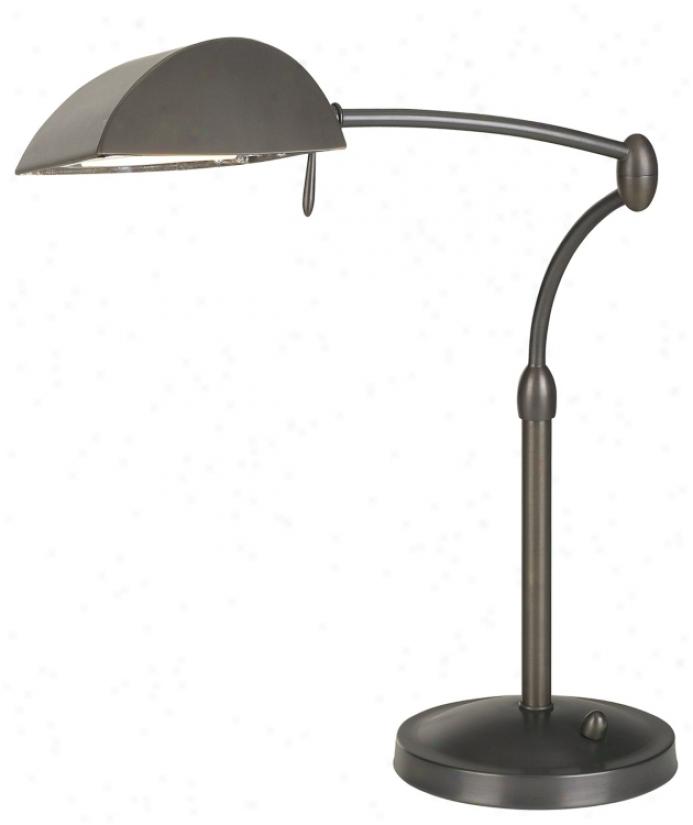 Oil-rubbed Bronze Swing Arm Pharmacy Desk Lamp (426144)