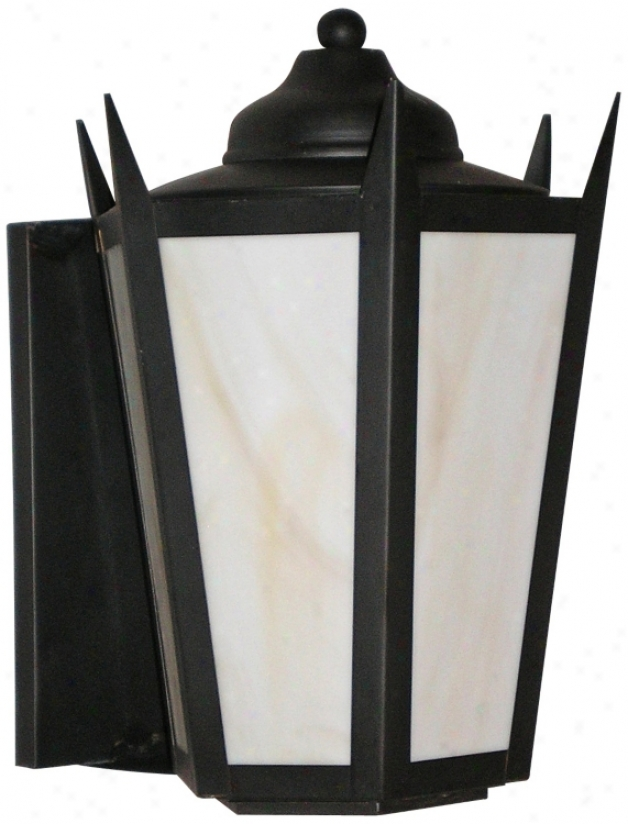 "Old Bronze Energy Efficient 11"" High Outdoor Wall Light (55051)"