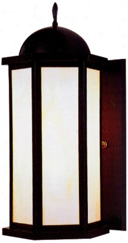 "Old World 14"" High Outdoor Wall Liyht (56854)"