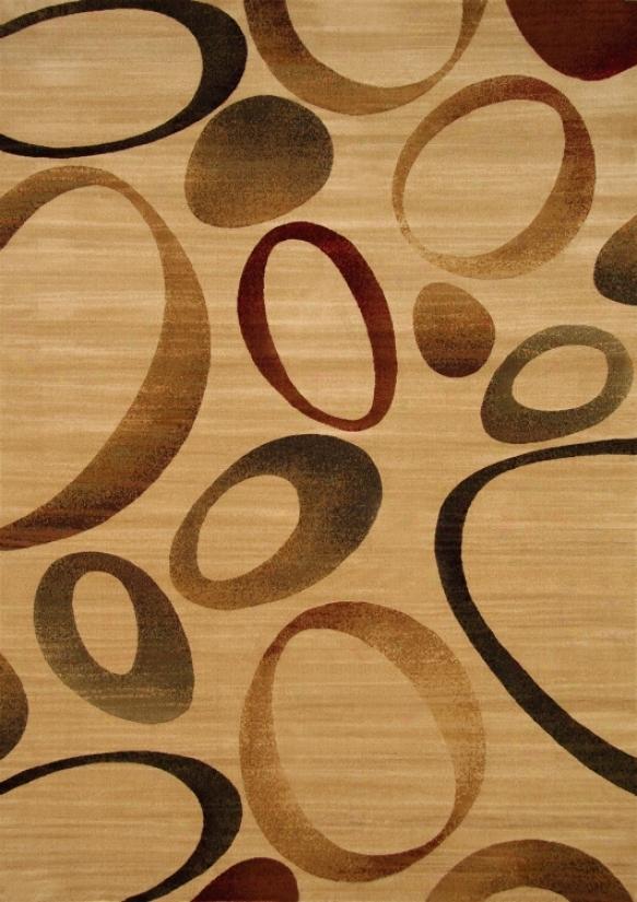 Ophelia Modern Ovals 5'x8' Yard Rug (65243)