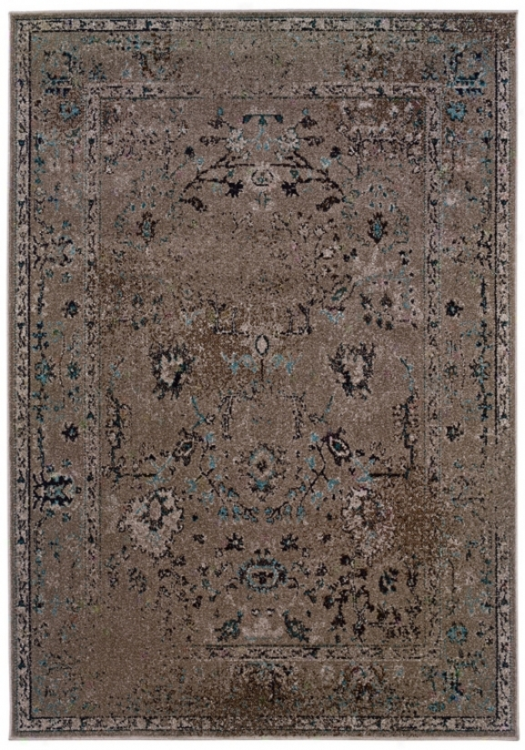 Orientak Weavers Revival 551q 5&#039;3&quot;x7&#039;6&quot; Grey Area Rug (w4331)