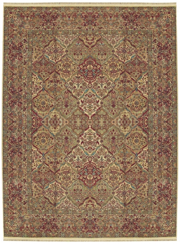 Original Karastan Rug Collectiln 719 Empress Kirman (v4104)