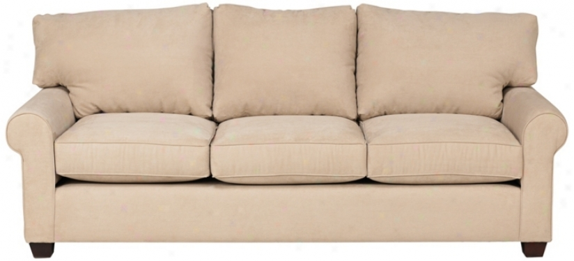 Pacific Run ashore Beige Upholstered Sofa (v1229)