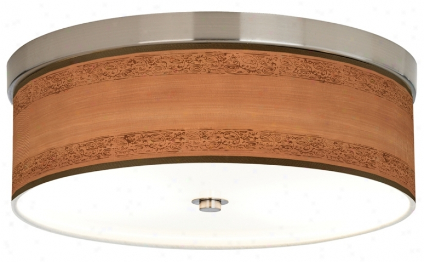 Paisley Trim Giclee Energy Efficient Ceiling Light (h8796-t3763)