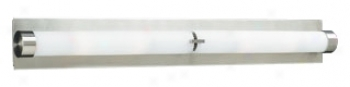 "Palos Opal Glass 36"" Wide Ada Bathroom Light Fixture (h4255)"