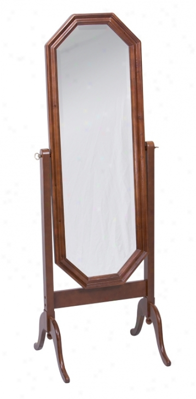 "Park End Cheval 59 "" High Floor Mirror (f1289)"