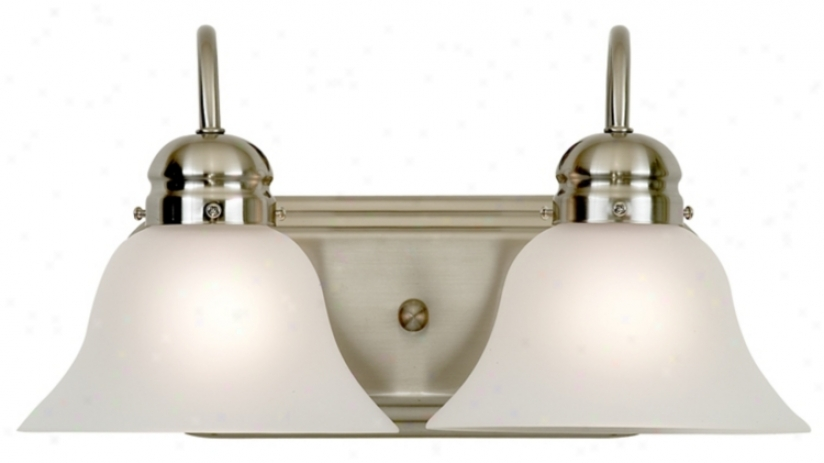 "Park Rank Collection 16"" Wide Two iLght Bathroom Fixture (881722)"