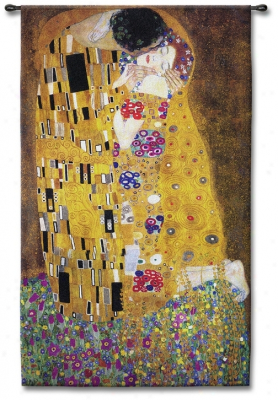 "Passionate Comprehend Small 53"" High Wall Tapestry (j8691)"