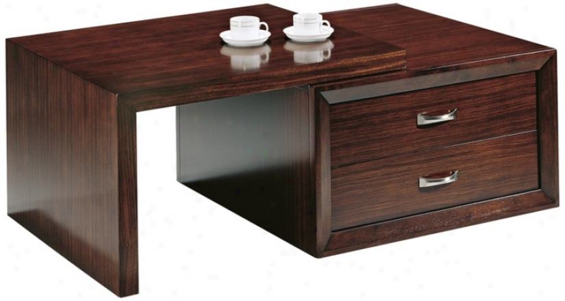 Perspectice Rectangular Cocktail Table (p1896)