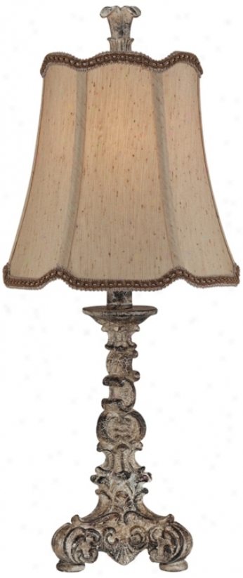 Petit French Candlestick Accent Lamp (t8529)
