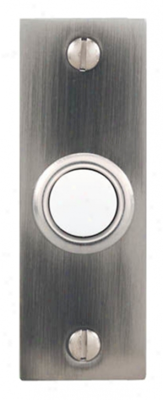Pewer Bar Style Lighted Doorbell Button (k6262)