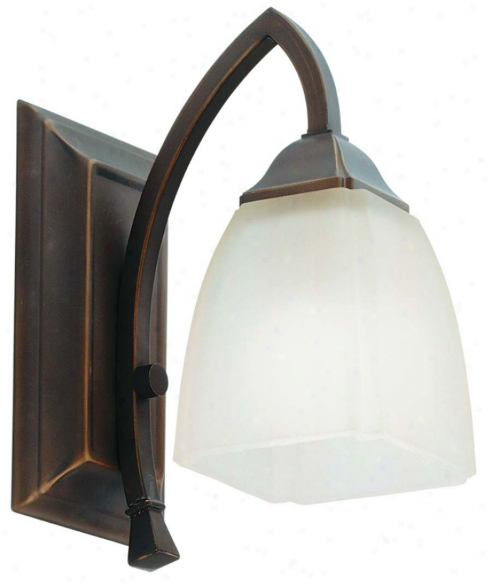 "Piedmohnt Collection 10 1/2"" High Bronze Wall Sconce (90733)"