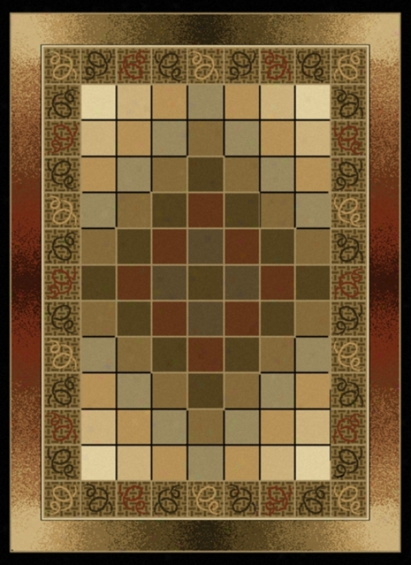 Pixelation Conteemporary Area Rug (j9591)