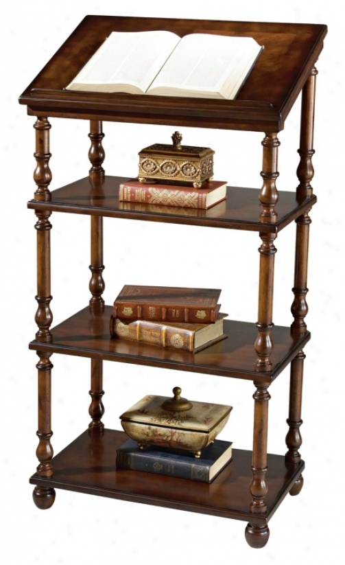 Plantation Cherry Collection Library Stand (m4002)