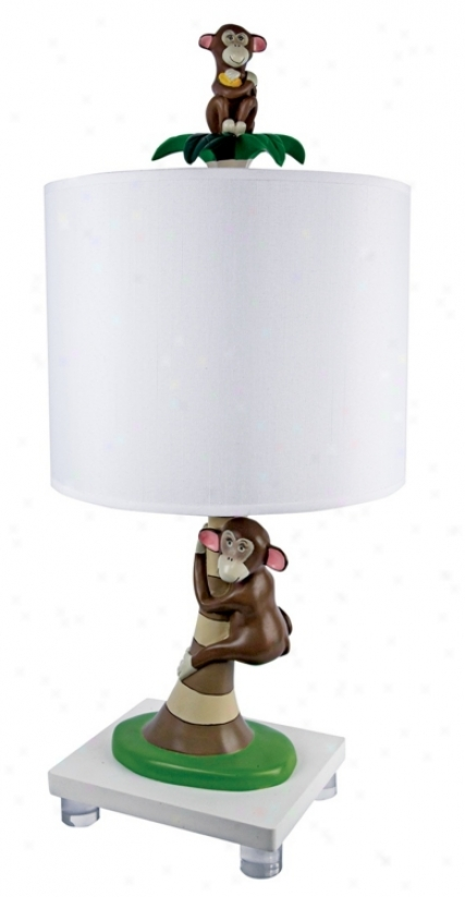 Playful Monkeys Table Lamp (m1020)