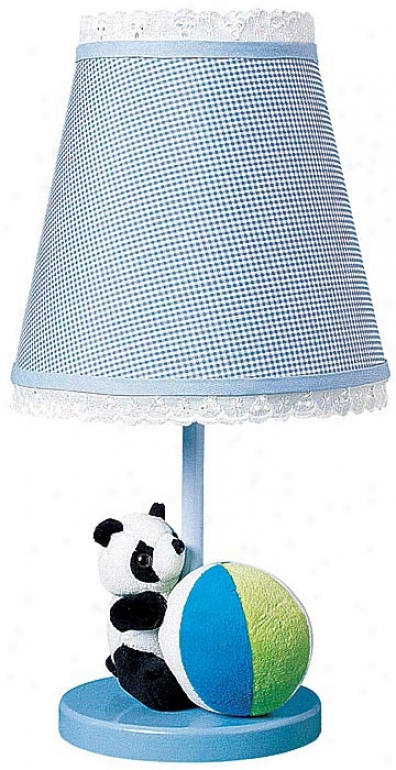 Plush Panda Bear Table Lamp (63944)