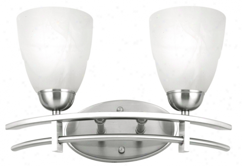 "Possini Deco Nickel Collection 15 3/4"" Bath Light Fixture (16885)"