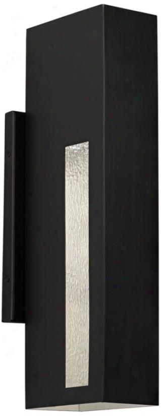 "Possini Euro 18"" High Dark Brass Outdoor Wall Light (u6430)"