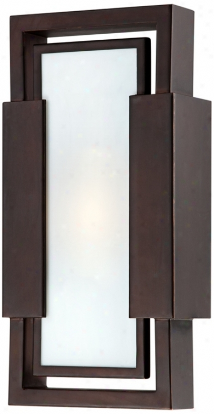 Possini Euro Ada Compliant Bronze Outdoor Wall Light (u9267)