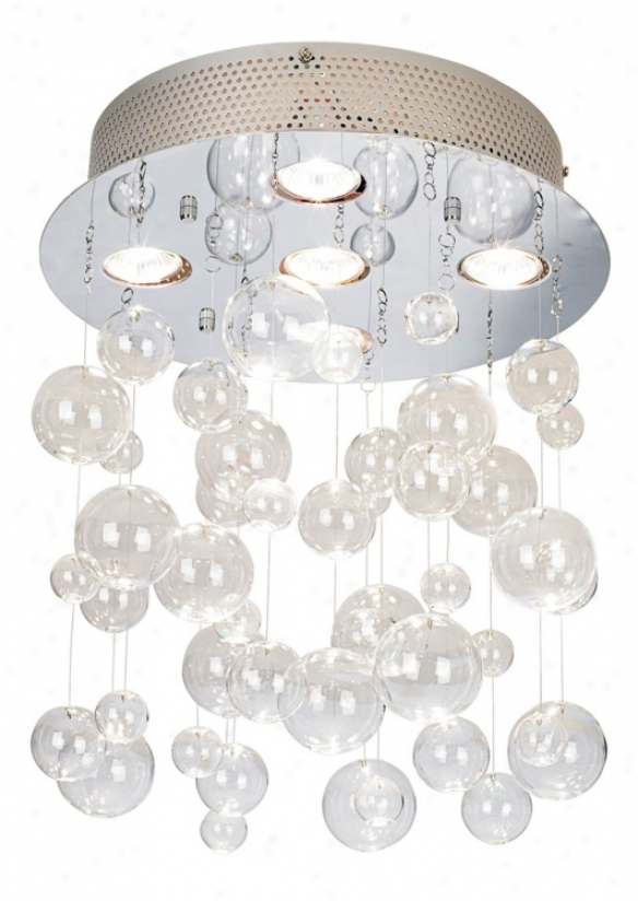"Possini Euro Bubbles 13 3/4"" Wide Ceiling Light Fixture (26853)"