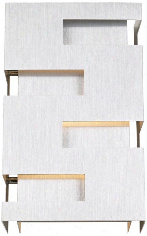 "Poxsini Euro Design 10"" High Cutout Wall Sconce (72660)"