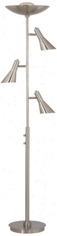 Possini Euro Design 4-in-1 Torchiere Floor Lamp (t5629)