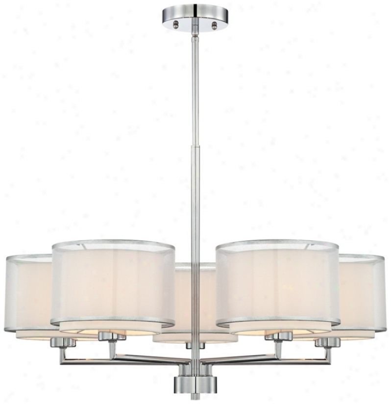 Possini Euro Design 5-light Overlapping Shade Chandelier (t6904)