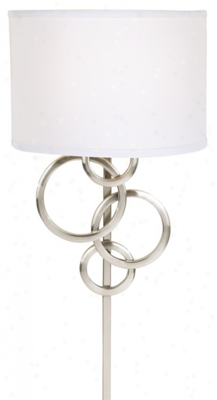 Possini Euro Design Circles Plug-in Wall Sconce (70954)